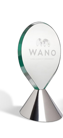 WANO Award Trophy Design visual image 5